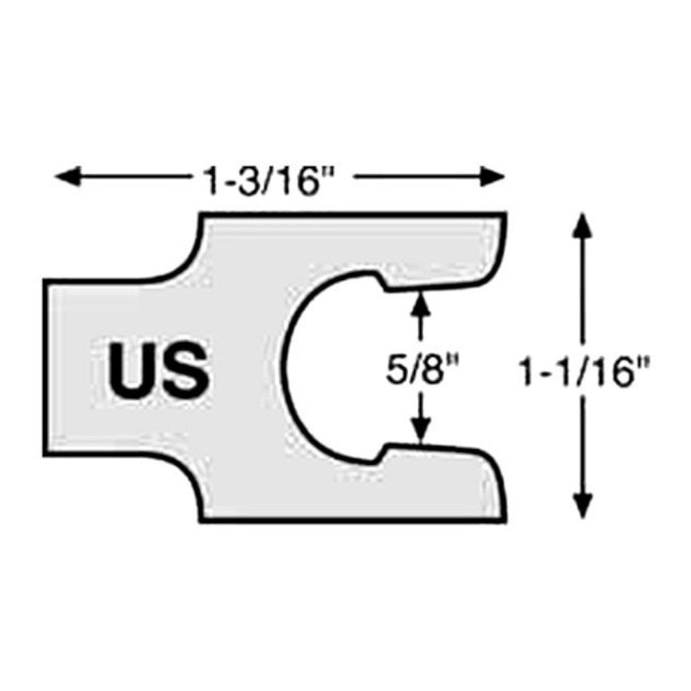 Specialty 47153 Caster/Camber Shim (1/8″)