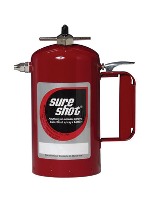 Sure Shot Sprayer, Powder Coated Steel (Red)