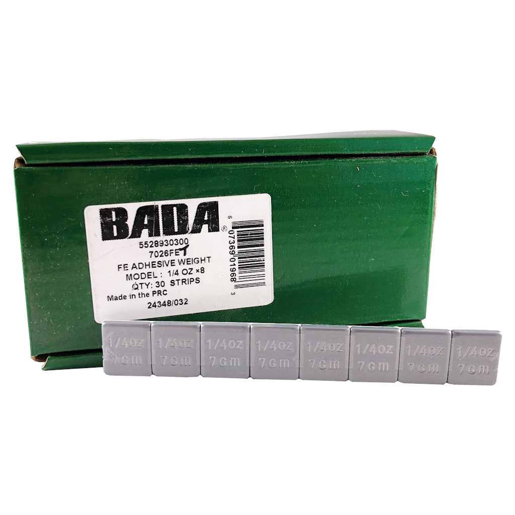 BADA 7026FET Steel 1/4 oz Low Profile Stick-On Adhesive Tape-A-Weight