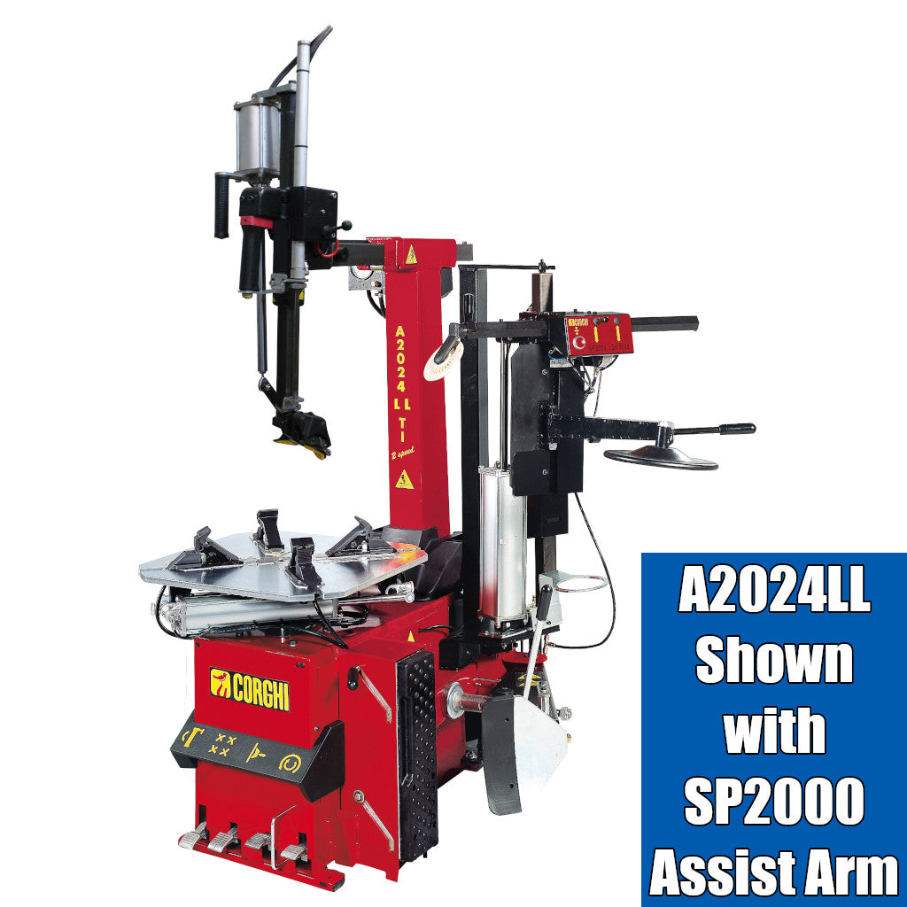 Corghi SP2000 Helper Assist Arm for A2024 and A2030 Rim Clamp Tire Changers