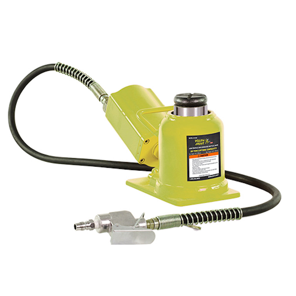 ESCO 10399 Yellow Jackit 20 Ton Air Hydraulic Shorty Bottle Jack