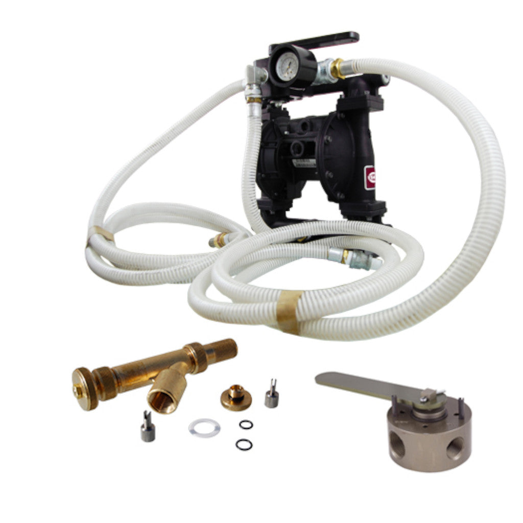 ESCO 10543 Liquid Transfer Pump with Hoses, Injector Gun, and Valve