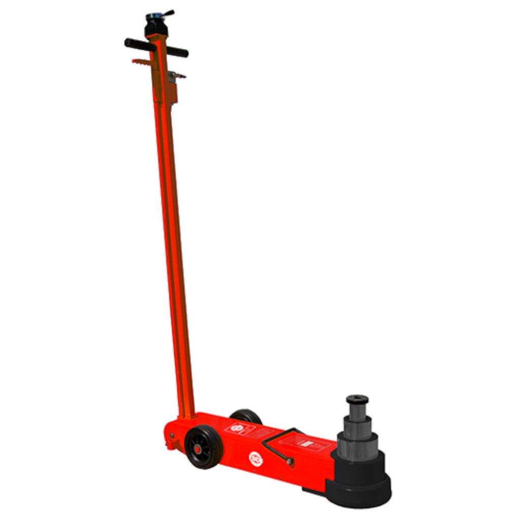 ESCO 10771 Yellow Jackit 3-Stage 50/25/10 Ton Air Hydraulic Long Service Jack