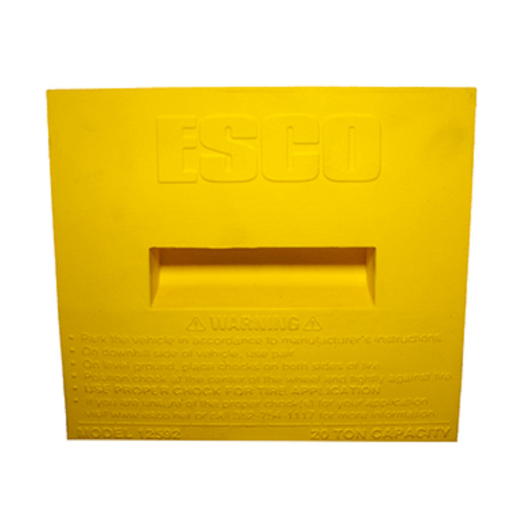ESCO 12592 20-Ton Wheel Chock