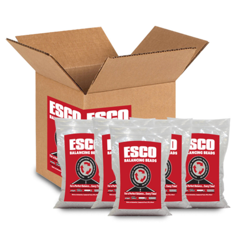 ESCO 20463C Truck Tire 10 oz. Balancing Beads - Single Bags or Case of 24