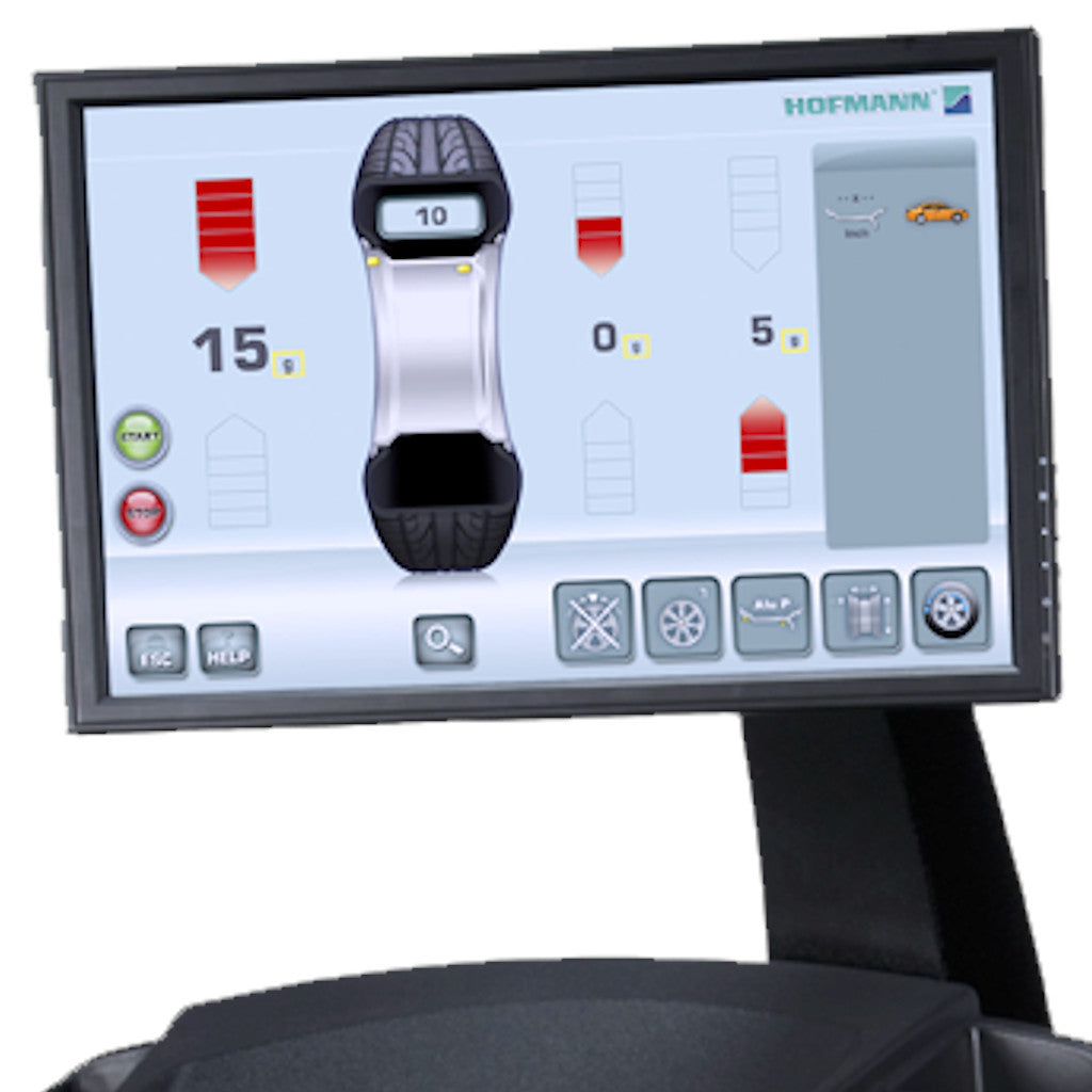 Hofmann Geodyna 7600P Wheel Balancer with Touchscreen Monitor