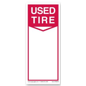Tire Sale Labels (250 Per Roll)