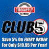 CLUB5 Loyalty Discount Club Membership Fee