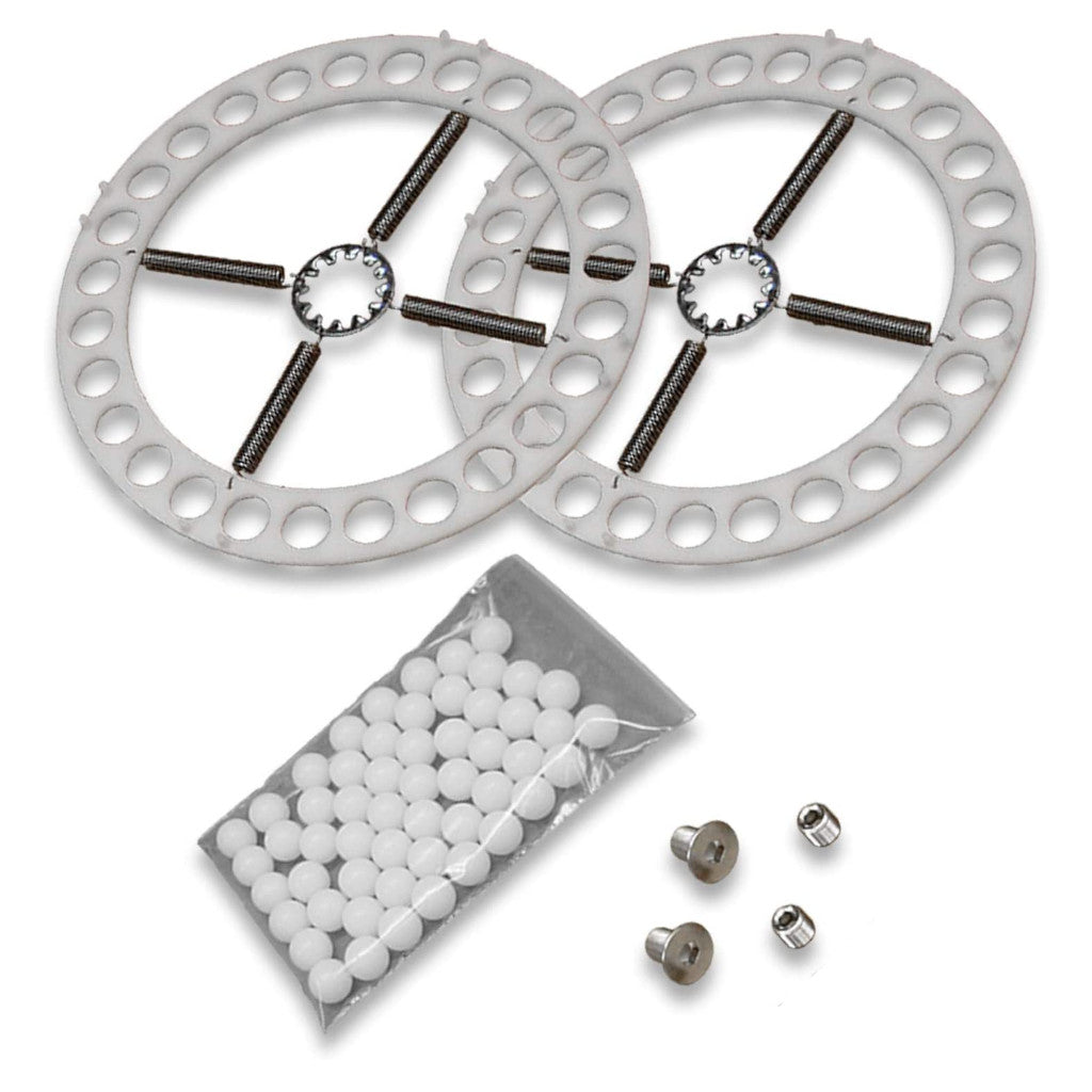 Repair Kit for 14″ Wheel Alignment Turn-Plates - Fits Hunter and Other Brands