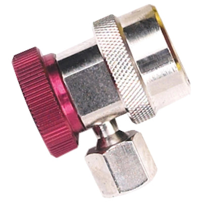 Robinair 18191A High Side Service Coupler With Red Actuator For R-134A Refrigerant