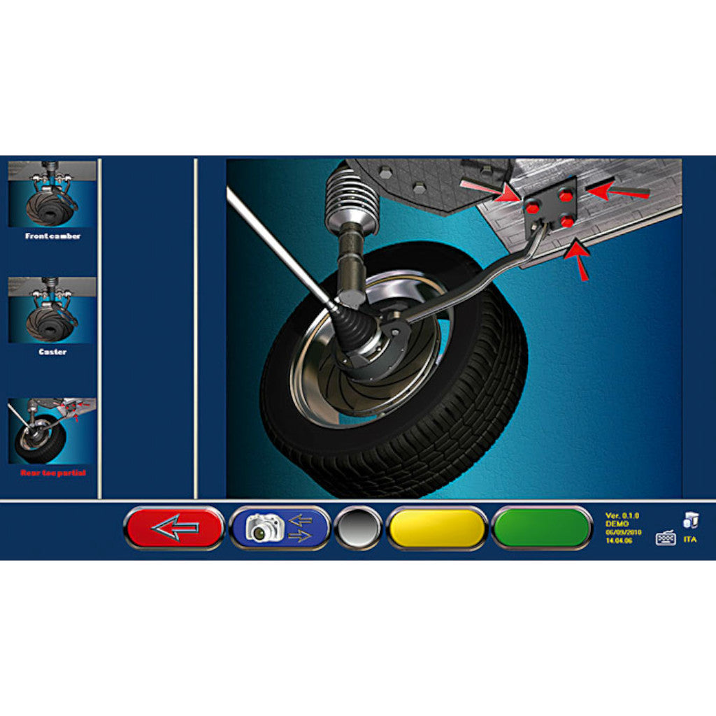Rotary R1070 Pro 8-CCD Wheel Alignment System