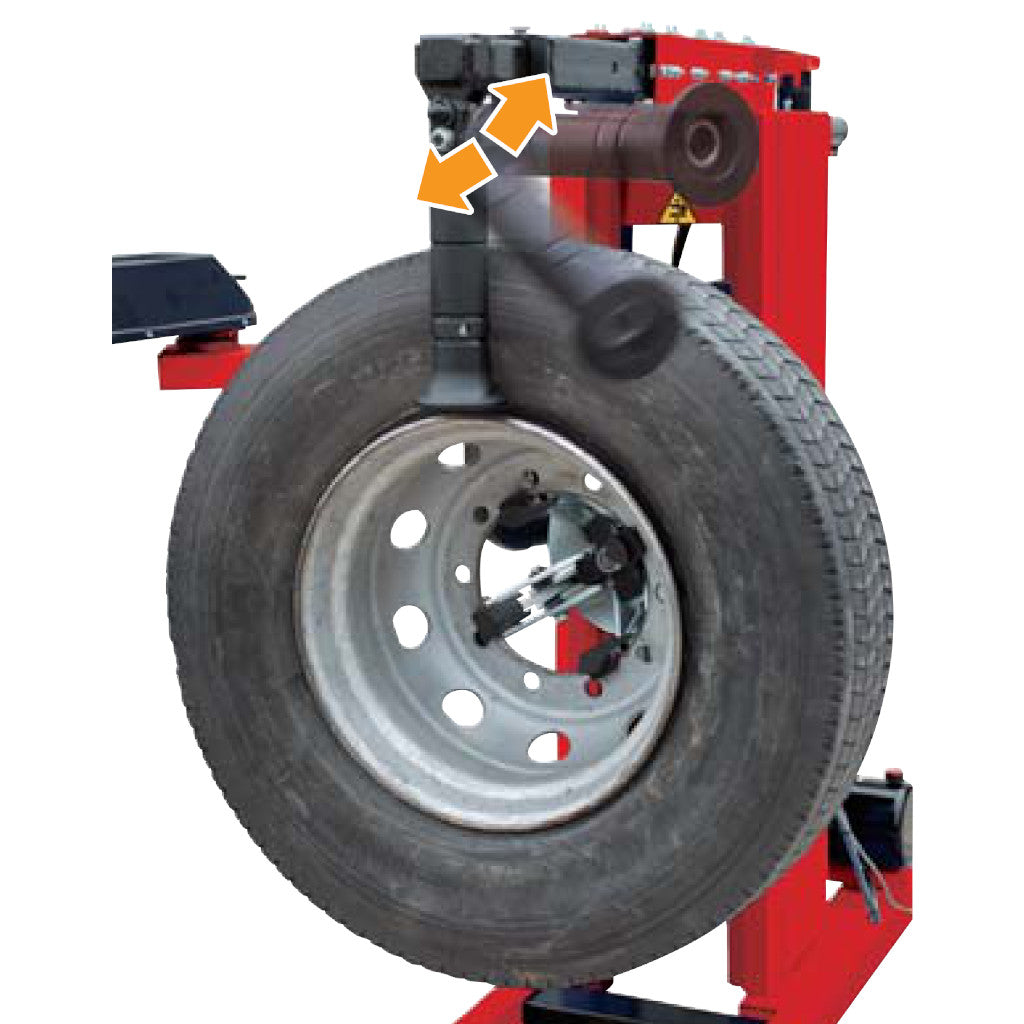 Rotary R560 Mobile HD Heavy Duty Truck Tire Changer