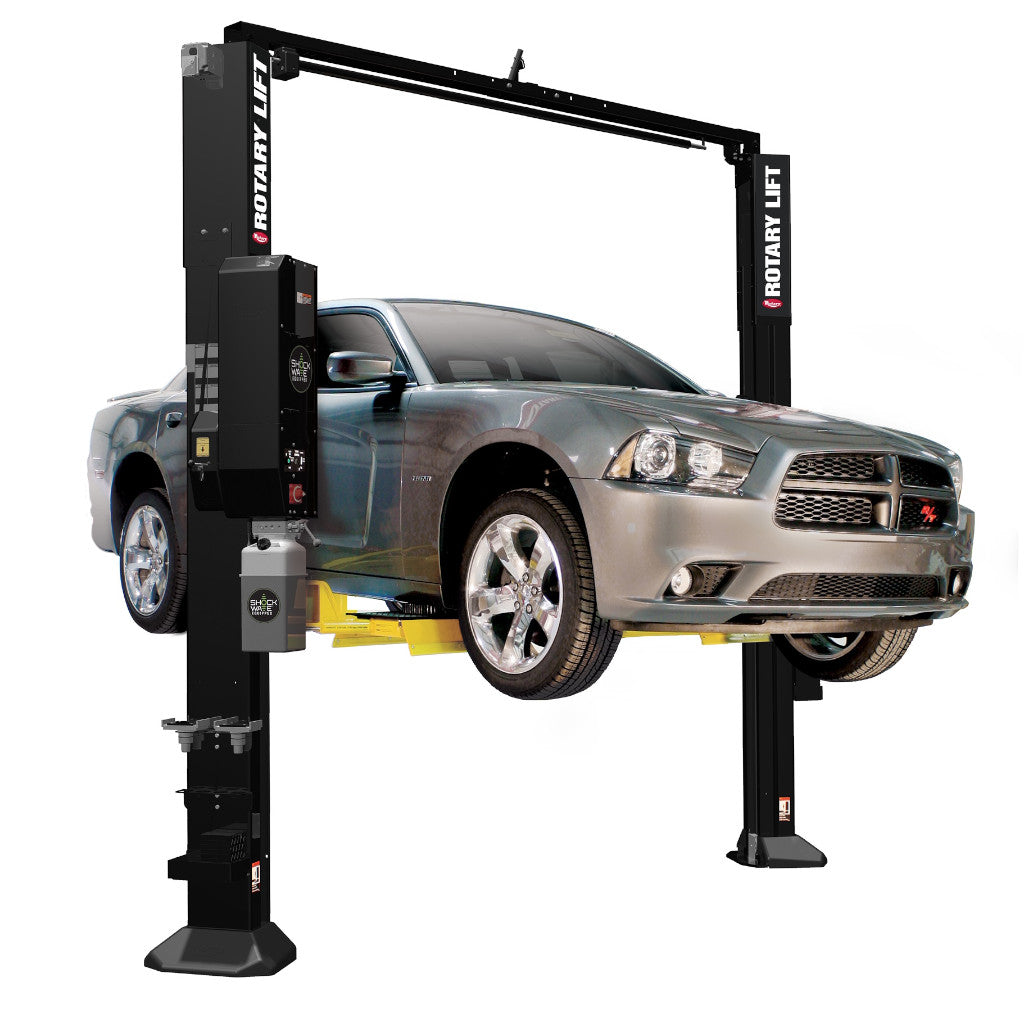Rotary SPOA10 Asymmetric 10,000 lbs Capacity Two-Post Car Lift
