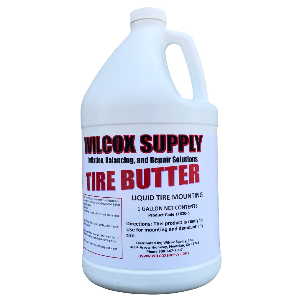 Tire Butter Liquid Mounting Lube 1 Gallon