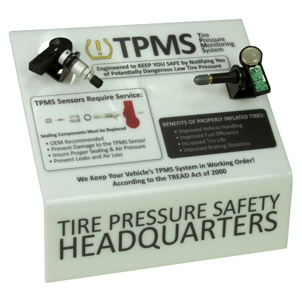 Xtra Seal 19-130 TPMS Countertop Display