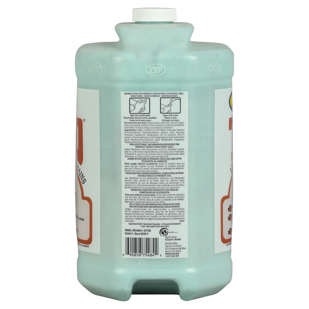 Zep R54824 Heavy Duty TKO Hand Cleaner 1 Gallon
