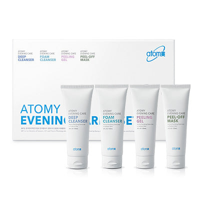 ATOMY E.C. Evening Care 4 Set (Cuidados básicos do dia a dia)