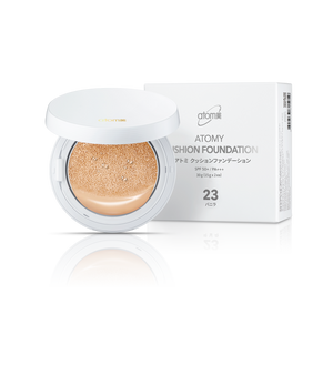 ATOMY -  Cushion Foundation Vanilla 23 (Base Facial com Almofada)