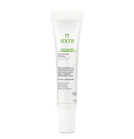 Gel Secativo Pontual - Acne Solution Adcos