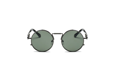 ROUND SUNGLASSES GREY