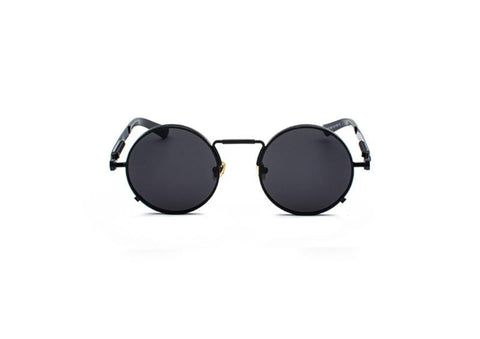 ROUND SUNGLASSES BLACK