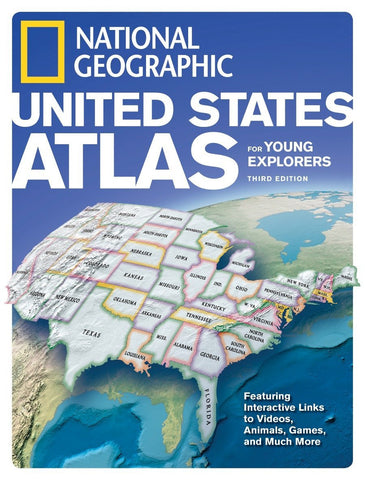 Libro NGEO ATLAS US YOUNG EXP 3R