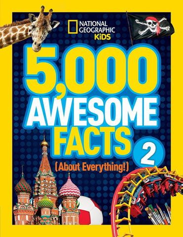 Libro 5,000 AWESOME FACTS2