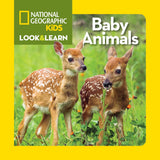 Libro LOOK & LEARN: BABY ANIMALS