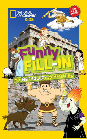 Libro FUNNY FILL-IN: MYTHOLOGY