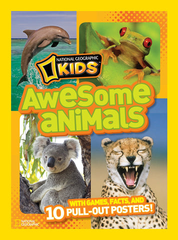Libro AWESOME ANIMALS