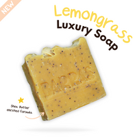 Lemongrass Luxury Soap Bar