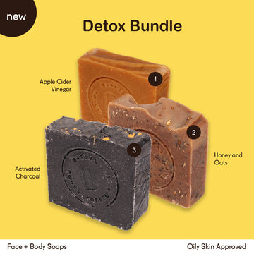 Detox Bundle for Oily Skin | Soap Bars