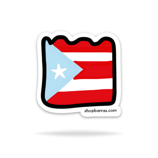 Barras Puerto Rico | Sticker