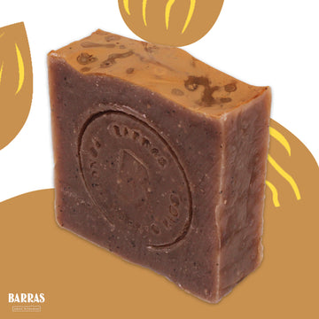 Let's take a break! | Coffee Grounds + Almond Oil + Shea Butter • Soap Bar