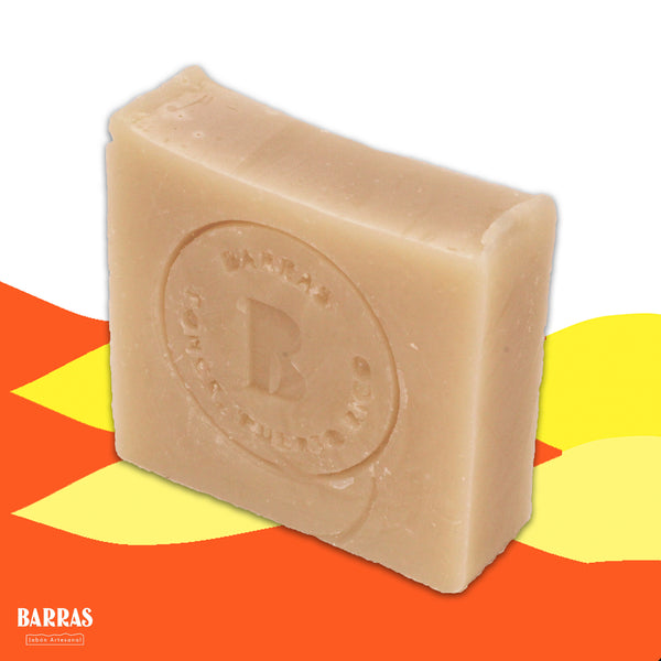 Naked! l Neem Oil + White Clay + Shea Butter • Soap Bar
