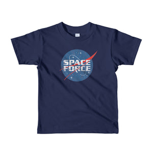 Junior Space Force USSF Donald Trump kids t-shirt