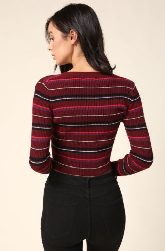 Emilia Striped Sweater