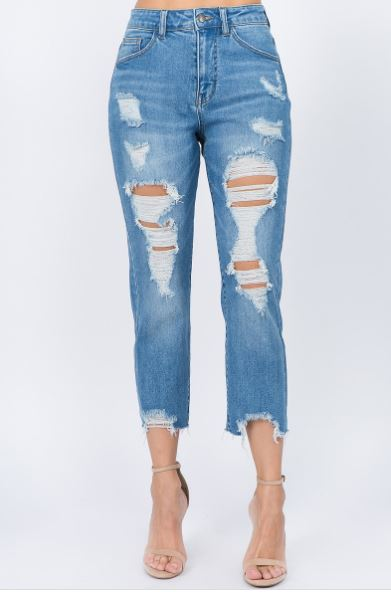 Niyah Cropped Jeans