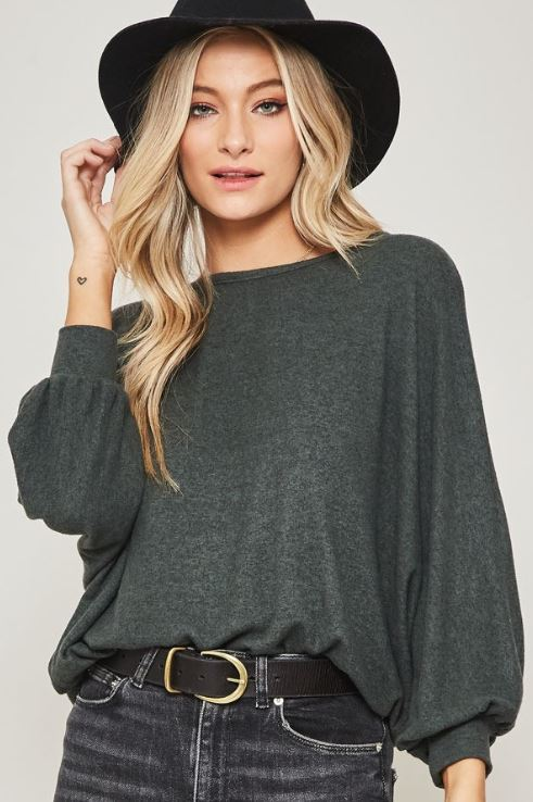 Alessia Oversized Top