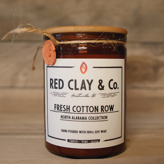 Fresh Cotton Row Jar