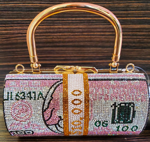 Rhinestone Mini Money Bags Purse Bag Clutch