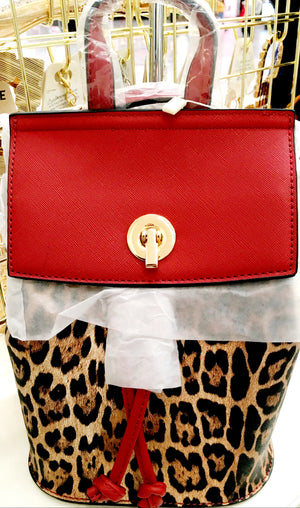 Mini Leopard and Red Back Pack