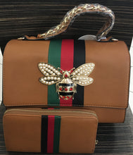 Gucci Inspired Butterfly Purse Bag with Wallet