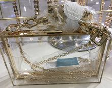 Clear See Through Purse Bag Clutch
