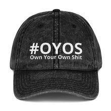 Boss Babe #OYOS Own Your Own Shit Custom Vintage Cotton Twill Cap
