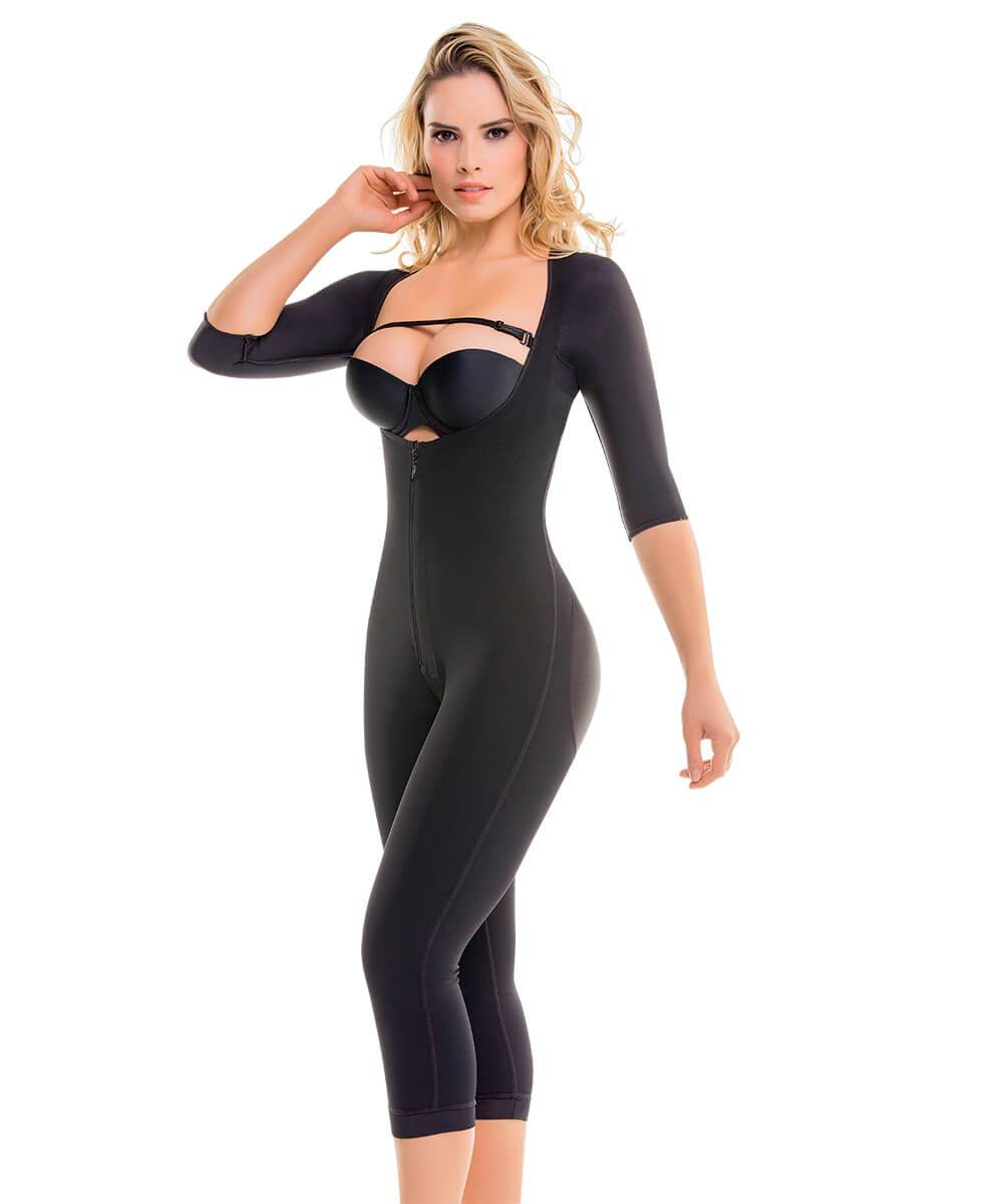 Top-to-Bottom Arms and Legs Full Body Shaper Extra Hold