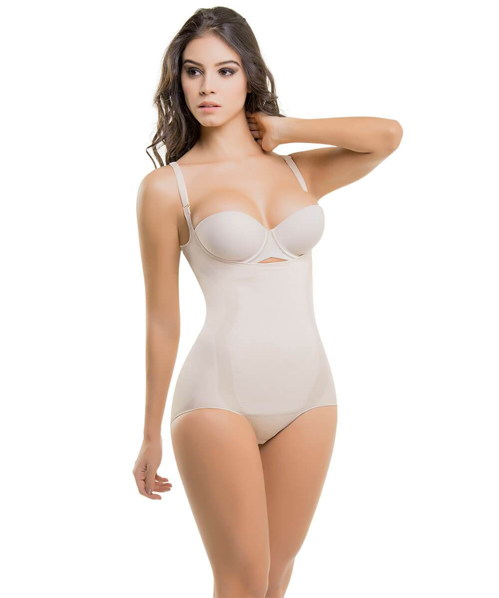 Seamless Thermal Abdomen Focused Body Shaper