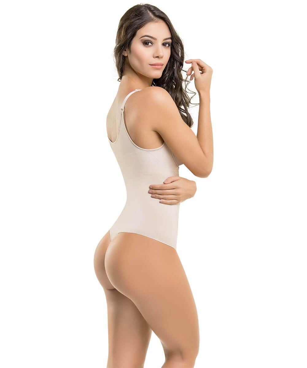 Seamless Thermal Abdomen Focused Body Shaper THONG
