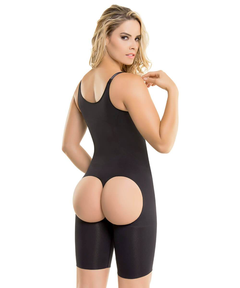 Seamless Mid-Thigh Ultra Butt-Lifting Bodysuit