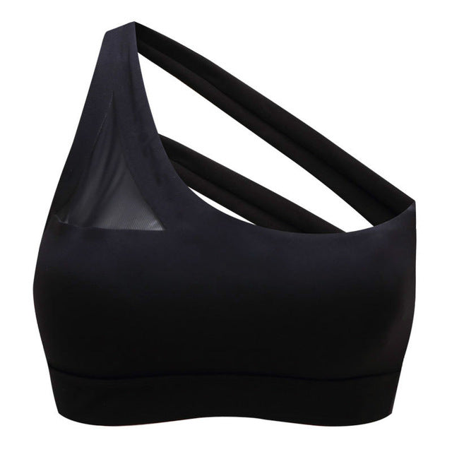 Off-shoulder Sports Bra Women